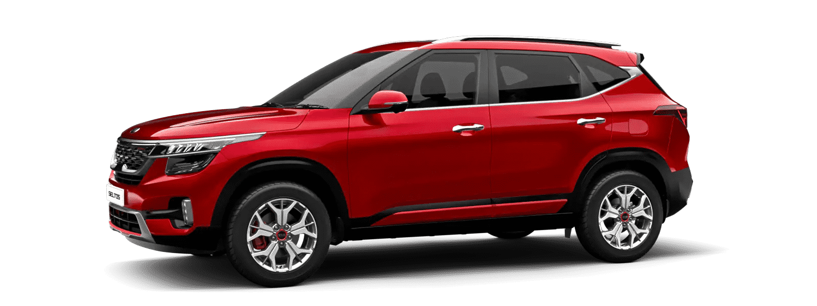 Kia Seltos Intense Red