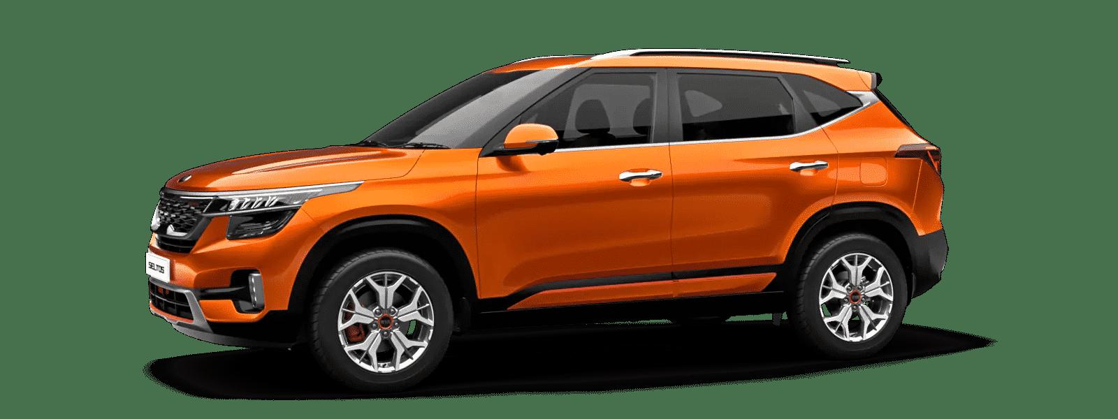Kia Seltos Punchy Orange