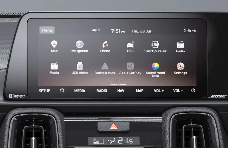 26.03cm (10.25″) HD Touch Screen Navigation